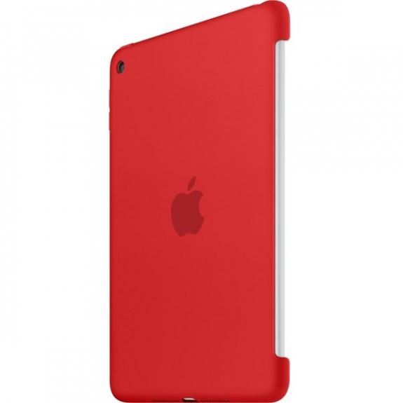3b1fbf17ad06a8 Oryginalne etui silikonowe dla Apple iPad mini 4 - czerwone - AppleKing.pl
