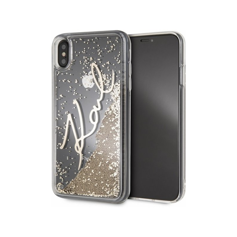 buy online 6126a a7c8f Karl Lagerfeld oryginał case etui do iPhone XS Max - złote