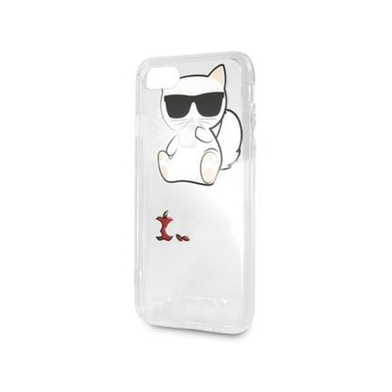 new arrival d7461 491cd Karl Lagerfeld Fun Eaten No Rope Hard Case etui do iPhone 7 Plus / 8 Plus -  przezroczyste